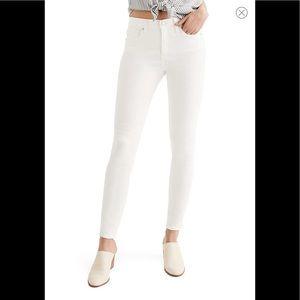 Madewell 9 inch High Waist Skinny Jeans Size 26